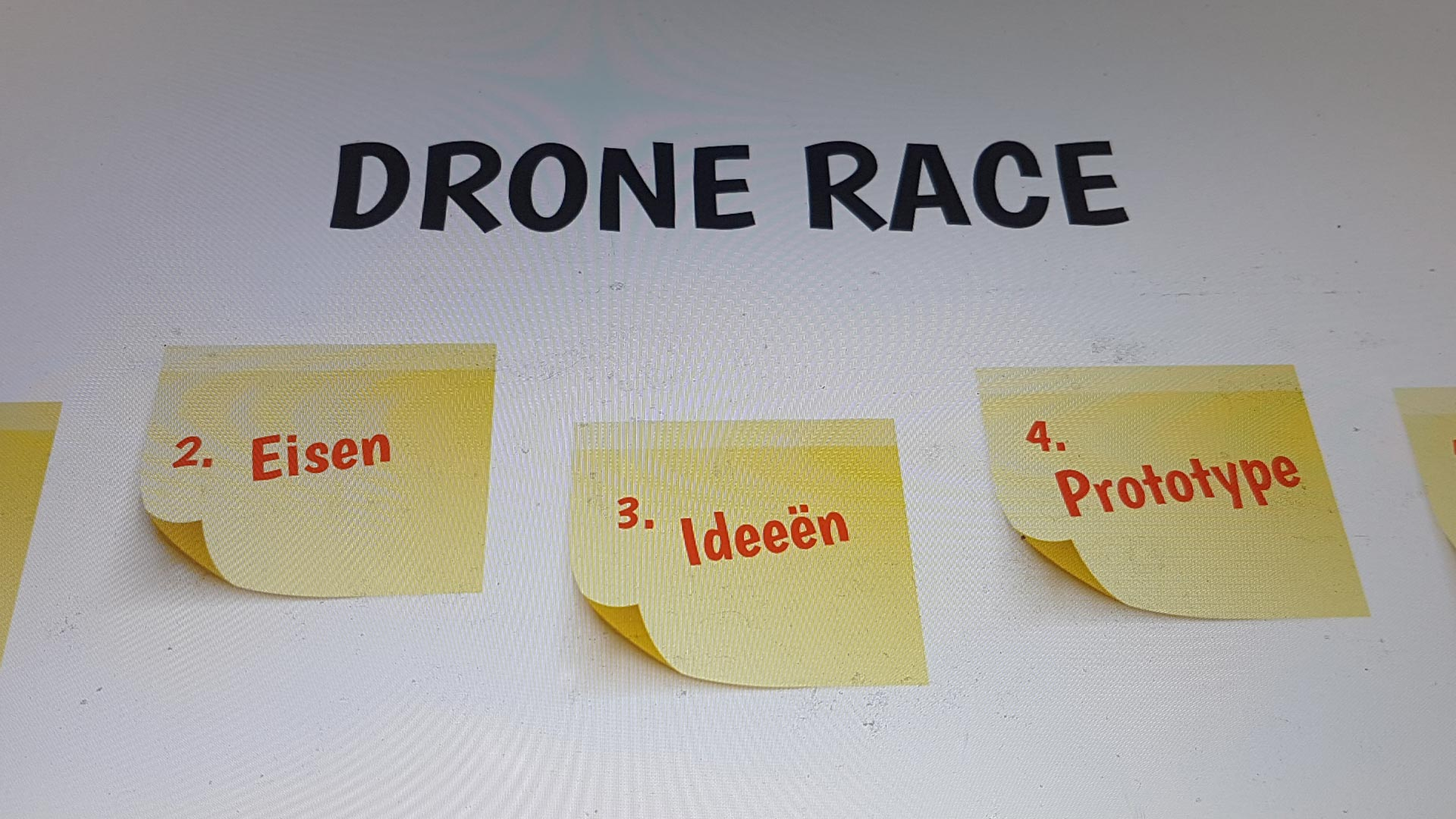 Drone Cup Friesland met Design Thinking