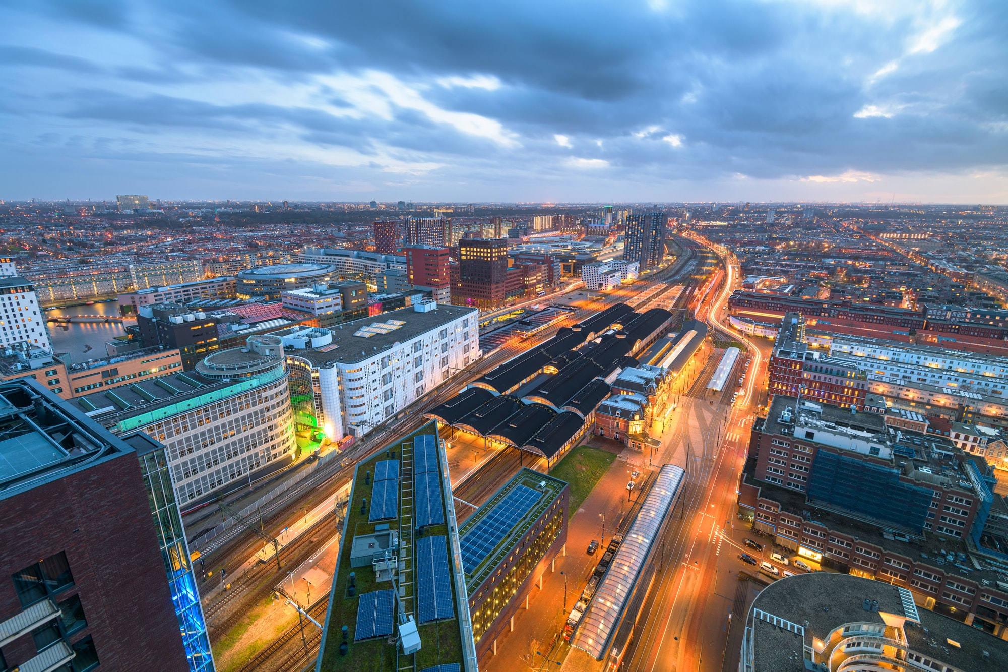 The Hague, Netherlands Cityscape